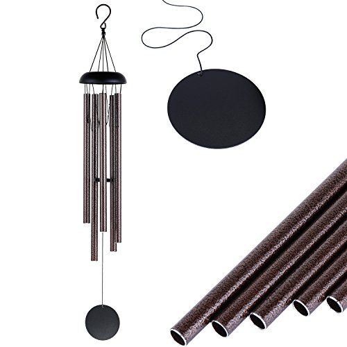 Jokovian 36 inch Love Never End Wind Chimes - 5 Large Tune Outdoor Wind chimes for Garden and Patio Décor
