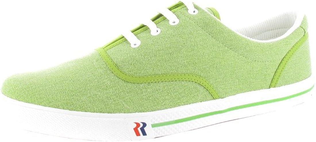 Romika - Zapatos de cordones para hombre Verde verde