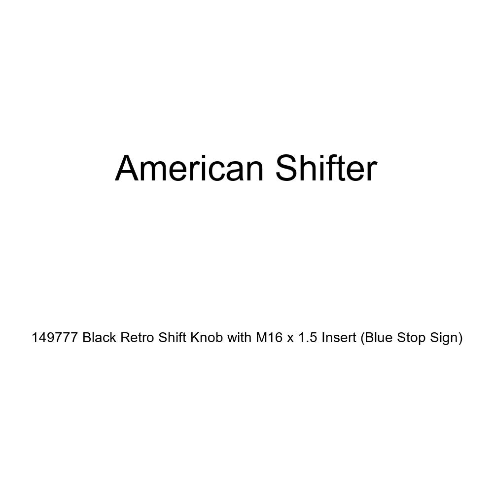 American Shifter 125477 Green Stripe Shift Knob with M16 x 1.5 Insert White Officer 10 - General