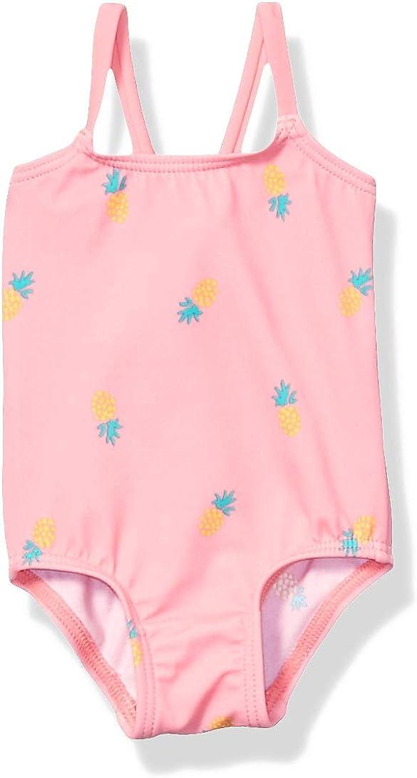 Essentials Girls Baby One-Piece Swimsuit