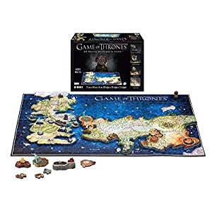 4dcityscape Game Of Thrones 4d Puzzle Di Westeros Essos