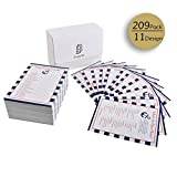Nautical Anchor Baby Shower Games, 11 packs 19Pcs each sheet Card Packs for Boy or Girl Unisex Gender Neutral Baby Party