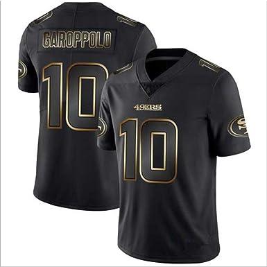 HYQ NFL Jersey, Negro y Jersey Versión Oro, San Francisco ...