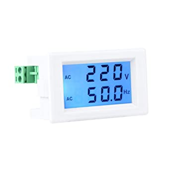 volt ammeter wiring two wire voltmeter ammeter  lcd screen voltage volt meter  digital  two wire voltmeter ammeter  lcd screen