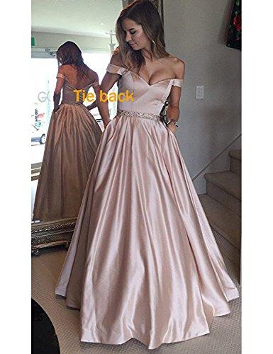 Pearl Linea Corte Donna Pink Ad Stillluxury Long Maniche Vestito A RwZ6Zq