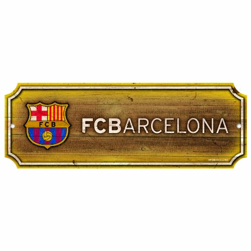 Int'l Soccer Barcelona Football Club 6-by-17 Wood