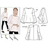 Amazon kwik sew patterns k3977 misses vest and jacket sewing style arc sewing pattern harlow top sizes 18 30 click for maxwellsz