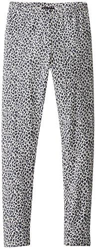Kate Mack Big Girls' Legging Small Print, Navy, 8
