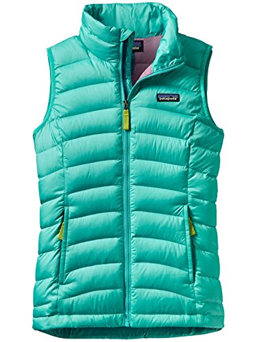 Patagonia Down Sweater Jacket (Patagonia Girls Down Sweater Vest Strait Blue Girls M)