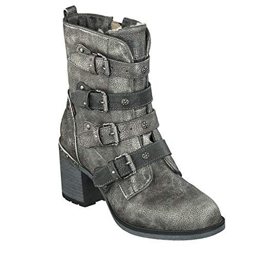 Mustang Botines Plata Para Mujer Stiefelette 00Bx81r