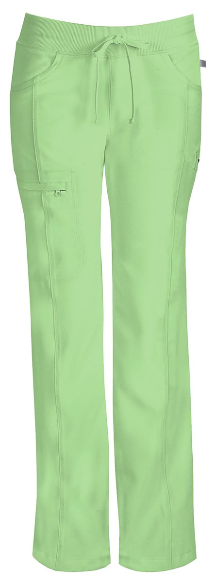 Cherokee Women's Low Rise Straight Drawstring Pant_Candy Apple_X-Large,1123AP