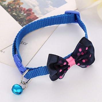 QWERGLL Collar de Perro Collar De Mascota Ajustable para Cachorros ...