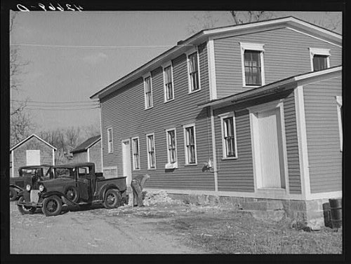 HistoricalFindings Photo: Usquepaugh,Rhode Island,RI,Washington County,Kenyon's Johnnycake Flour Mill