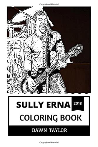 Sully Erna Coloring Book: Godsmack Frontman and Heavy Metal Legend ...