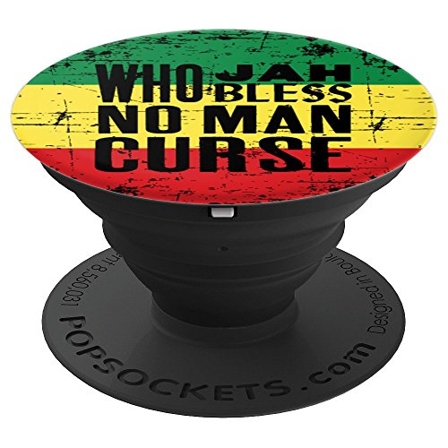 - Jamaican Rastafari Rasta Reggae Fan - PopSockets Grip and Stand for Phones and Tablets