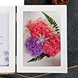 The imports rose Immortal flower photo frame Fresh rose Creative ornaments Mother's day-J