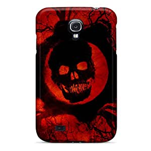 Shock Absorption Hard Cell-phone Cases For Samsung Galaxy S4 With Provide Private Custom Trendy Gears Of War 3 Skin LisaSwinburnson