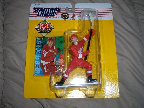 1995 Sergei Fedorov NHL Starting Lineup Figure [Toy] (Fedorov Nhl Sergei)