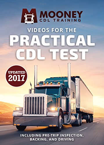 Mooney CDL Training DVD Video Course for Commercial Driver License Road Test Including Pre Trip Inspection, Driving, Backing for CDL Driving or Practical Exam. Not for Written Test - Road Test Only.