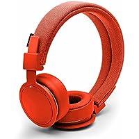Urbanears Plattan ADV Wireless On-Ear Bluetooth Headphones, Tomato (4091100)