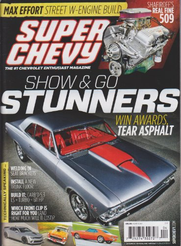 Super Chevy Magazine April - Impala Ss Turbo