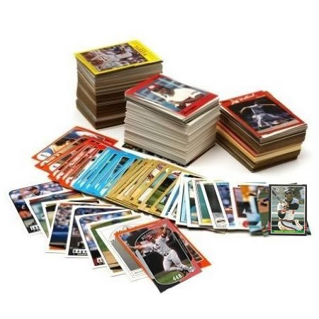 Unsearched Baseball Cards 500 Card Assortment