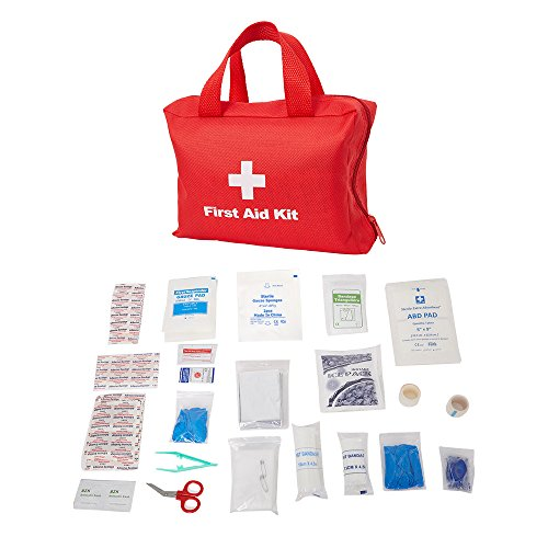 Dporticus 2 in 1 Compact First Aid Kit 90-Piece for Car, Travel, Camping, Home, Office, Sports, Survival | Complete Emergency Bag by Dporticus (Image #1)