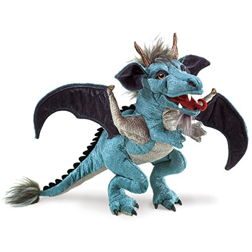 Folkmanis Sky Dragon Hand Puppet (Three Puppet Dragon Headed)