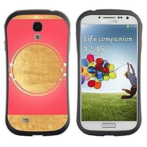 Suave TPU GEL Carcasa Funda Silicona Blando Estuche Caso de protección (para) Samsung Galaxy S4 I9500 / CECELL Phone case / / Pink Lines Pattern Minimalist Art Deco /