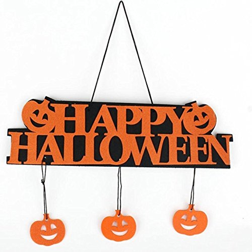 ASSIS 1pc Halloween Banner Garland Ghost Hanging Decoration (College Couples Halloween Costumes Ideas)
