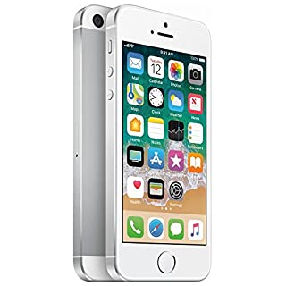 Apple iPhone SE, 1st Generation, 64GB, Silver - For AT&T / T-Mobile (Renewed)
