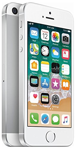 Apple iPhone SE, GSM Unlocked, 32GB - Silver (Renewed)