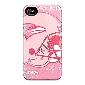 Shockproof Hard Phone Cases For Iphone 6plus (cgq1255Nhgc) Customized HD Baltimore Ravens Skin