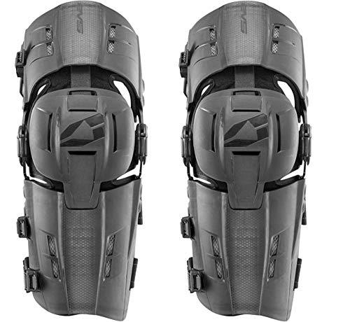 EVS Sports Men's Knee Brace (RS9 Pair) (Black, Small), 2 Pack ()