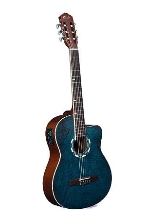 Lindo LDG-960CEQ - Guitarra electroacústica de concierto ...