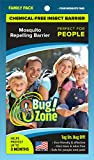 0Bug!Zone Mosquito Barrier Tags, Family Pack