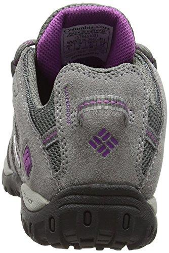 Columbia Redmond Waterproof - Zapatos de senderismo mujer Negro (031)