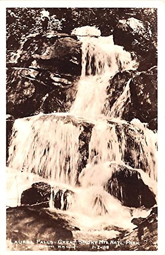 Laurel Falls Great Smoky Mountains National Park, Tennessee postcard