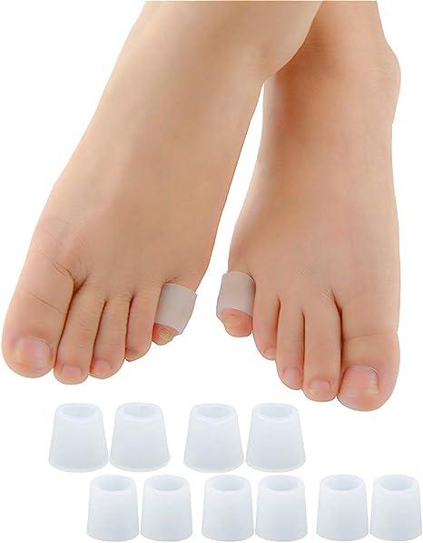 Amazon Povihome 足指 足爪 保護キャップ 小指 5ペア 足の小指保護
