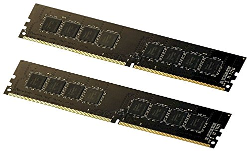 16GB Kit (2x8GB) DDR4 PC4-19200 2400Mhz Desktop Memory Ram 288Pin Non ECC Non-Registered
