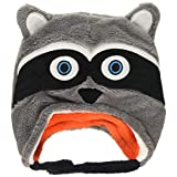 FlapJack Kids Flapjacks - Kids Winter Hat - Racoon/Fox - Baby/Tddlr 6M-3Y