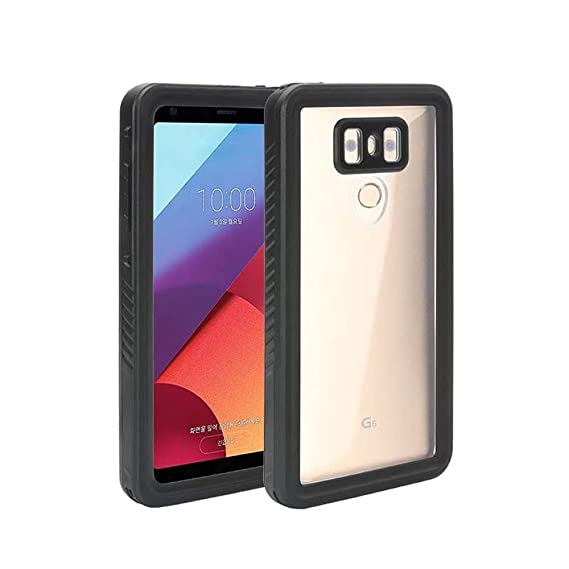 quality design 4c725 6500f LG G6 Waterproof Case,Victory Full Sealed Body Protection Underwater Cover  IP68 Certified with Built in Screen Protector Dustproof Snowproof ...