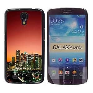 - Ocean Seas - - Monedero pared Design Premium cuero del tir¨®n magn¨¦tico delgado del caso de la cubierta pata de ca FOR Samsung Galaxy Mega 6.3 i9200 i9208 Funny House