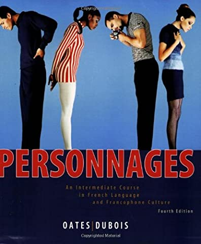 Personnages: An Intermediate Course in French Language and Francophone Culture (Quick Study Academics French)