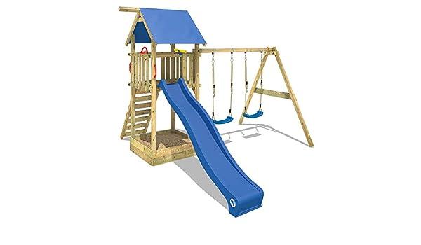 galvanizado WICKEY Anclaje en /ángulo el juego 6 piezas para el parque infantil y el columpio 500 x 45 x 45mm
