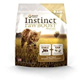 Instinct Raw Boost Grain-Free Duck Meal and Turkey Meal Formula Dry Cat Food by Nature's Variety, 11.3-Pound Bag, My Pet Supplies