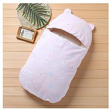 DIVAND Bebé orgánico Saco de Dormir, Unisex bebé Sleepsack usable Manta algodón Saco de Dormir Manga Larga Nido Camisones Lindo Cachorro impresión, ...