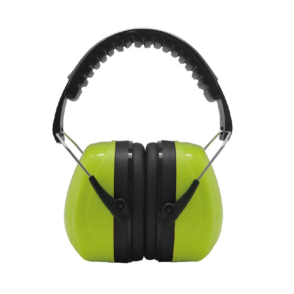 Tvoip 35dB Highest NRR Safety Ear Muffs - Professional Ear Defenders for Shooting, Adjustable Headband Ear Protection/Shooting Hearing Protector Earmuffs Fits Adults to Kids (Green)