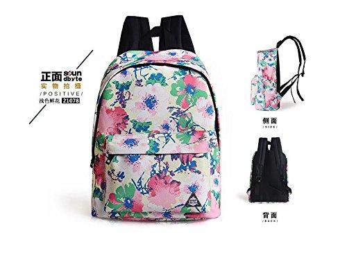 viaggio Nuova zaino rosa verde FashionGirls borsa da S77x6qEUnP