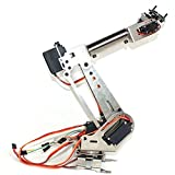 6 axis robot arm - HITSAN 6DOF Mechanical Arm 6 Axis Rotating Manipulator Robot Arm Clamp Kit with Servo for Arduino One Piece